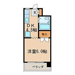 LIBERAL[4階]の間取り