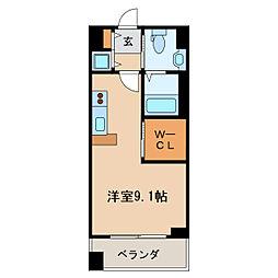 KDX千早レジデンス[8階]の間取り