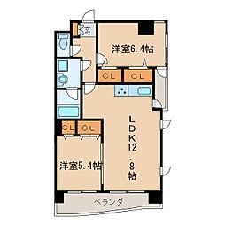 新栄Grand M[9階]の間取り