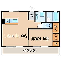 神谷BLD[5階]の間取り