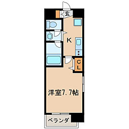 アルフィーレ新栄[7階]の間取り