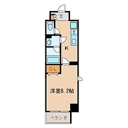 パークフラッツ新栄[7階]の間取り