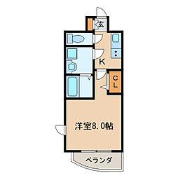 プレサンス栄モード[8階]の間取り
