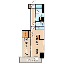 エステムプラザ名古屋丸の内[11階]の間取り