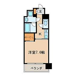 エスペランサ葵[9階]の間取り