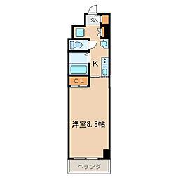 HF久屋大通レジデンス[7階]の間取り