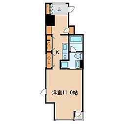 N.S.ZEAL泉[7階]の間取り
