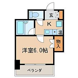 Atともえ[4階]の間取り