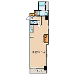 St.Regis Izumi[6階]の間取り