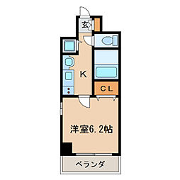 プレサンス泉シティアーク[10階]の間取り