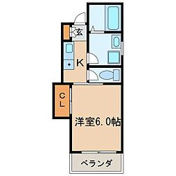 ファインハイツ[3階]の間取り