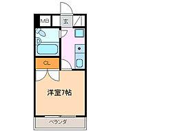 グランメールKAZU[10階]の間取り