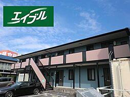 三重県鈴鹿市白子駅前の賃貸アパートの外観