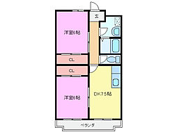 ハミングバード II[2階]の間取り
