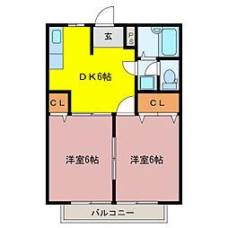 プライベート[2階]の間取り