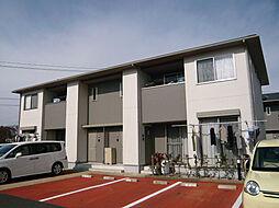 三重県鈴鹿市平田新町の賃貸アパートの外観