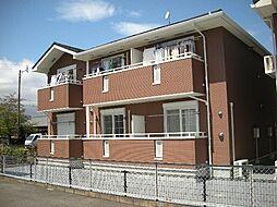 三重県亀山市住山町の賃貸アパートの外観