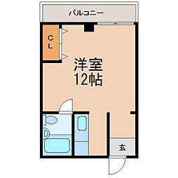 Uビル[3階]の間取り