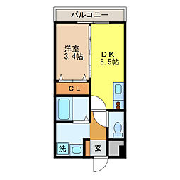 平和公園駅 4.8万円