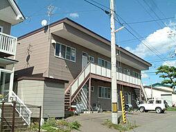 北海道亀田郡七飯町大川1丁目の賃貸アパートの外観