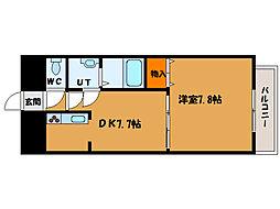 北海道函館市大森町の賃貸マンションの間取り