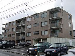 北海道函館市杉並町の賃貸マンションの外観