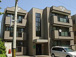 北海道函館市的場町の賃貸マンションの外観
