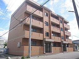 北海道函館市松川町の賃貸マンションの外観