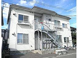 北海道函館市日乃出町の賃貸アパートの外観