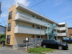 北海道函館市大川町の賃貸アパートの外観