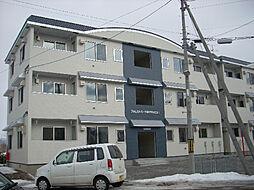 北海道北斗市久根別4丁目の賃貸アパートの外観