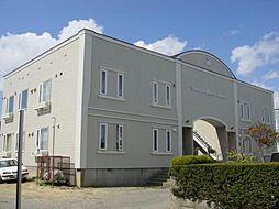 北海道函館市美原4丁目の賃貸アパートの外観