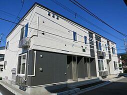 北海道函館市榎本町の賃貸アパートの外観