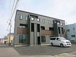 北海道函館市亀田町の賃貸アパートの外観