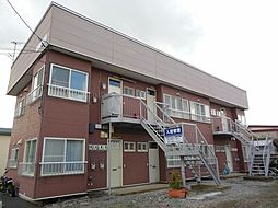 北海道函館市上野町の賃貸アパートの外観