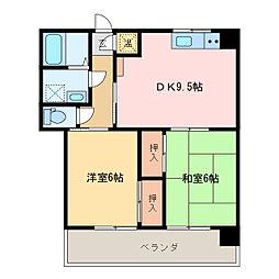 第3サンワビル[2階]の間取り