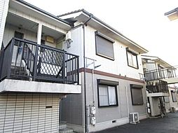 滋賀県大津市大萱3丁目の賃貸アパートの外観