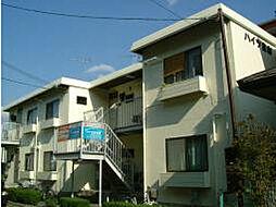 滋賀県大津市大江7丁目の賃貸アパートの外観