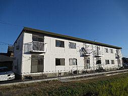 滋賀県大津市一里山4丁目の賃貸アパートの外観
