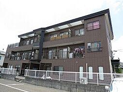 滋賀県大津市大萱6丁目の賃貸マンションの外観
