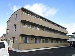滋賀県大津市大萱6丁目の賃貸アパートの外観