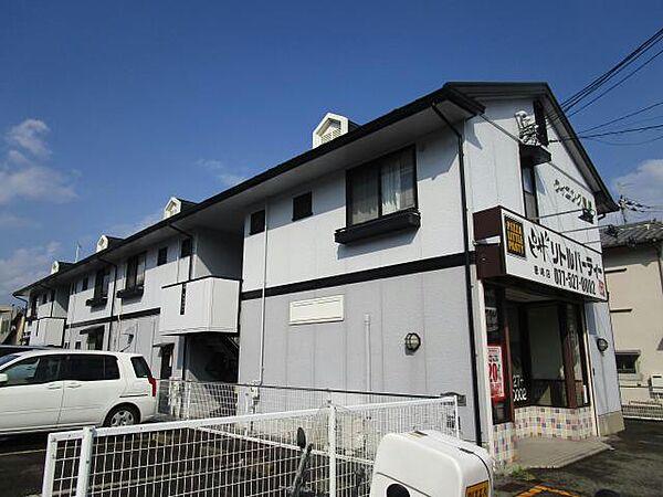 滋賀県大津市蓮池町の賃貸アパート