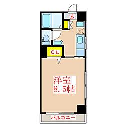 レジデンスTK[3階]の間取り