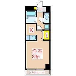 新屋敷山元マンション [6階]の間取り