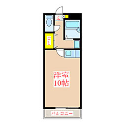 新屋敷山元マンション [5階]の間取り