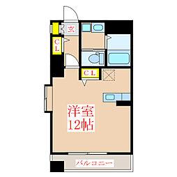 コンフォートNANーA[6階]の間取り
