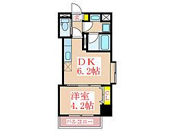ツインコート・タワーズII番館[2階]の間取り