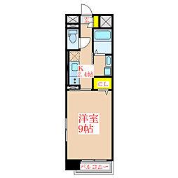 ウェーブII[1階]の間取り