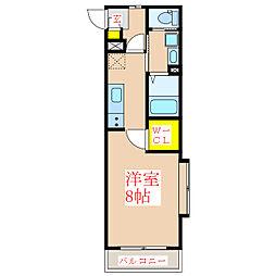 エル・カ・アーサII[2階]の間取り