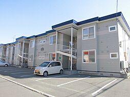 北海道札幌市東区伏古九条2丁目の賃貸アパートの外観